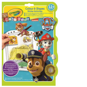 Crayola Mini Kids Kleur & stickerboek Paw Patrol