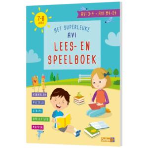 Het superleuke AVI Lees- en speelboek